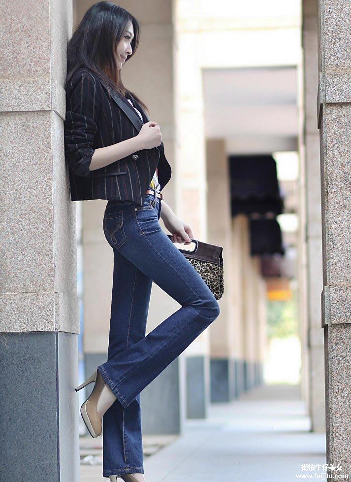 让你惊艳的好身材 绝佳牛仔美女论坛图片