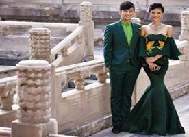 中国风的婚纱照