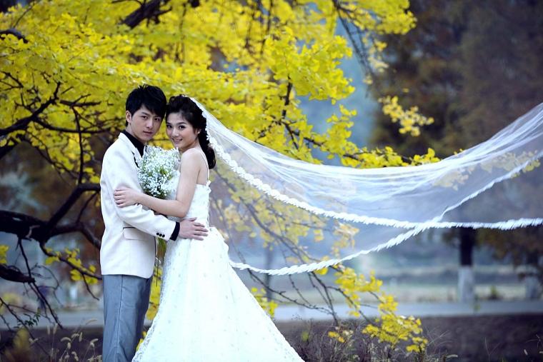 [转贴][幸福婚照] 对全世界宣布我爱你