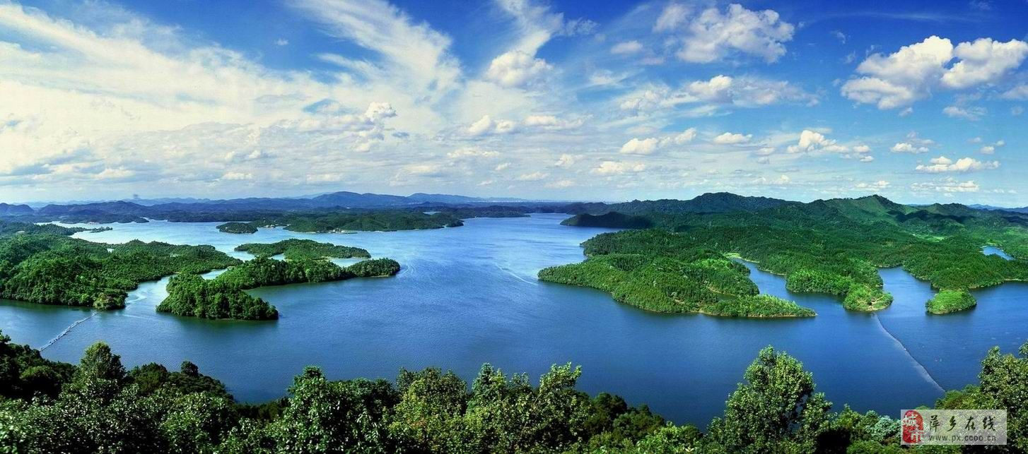 仙女湖风景名胜区是国家重点风景名胜区,位于江西省新余市,因东