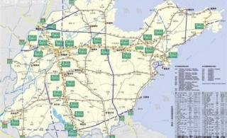山东高速地图 山东高速公路地图 山东省高速公路地图