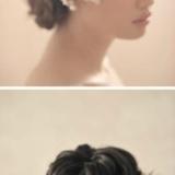 羽毛大花VS蕾丝薄纱 演绎六款唯美浪漫的新娘头饰