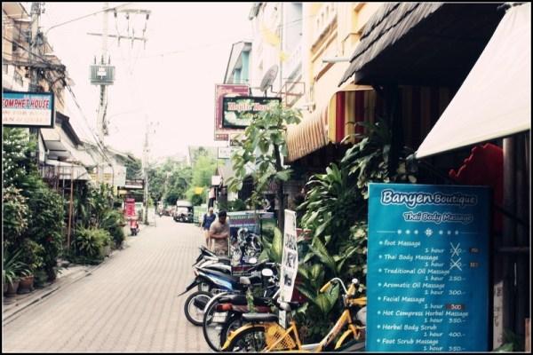 泰行之清迈——-街道