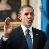 奥巴马就职演说照