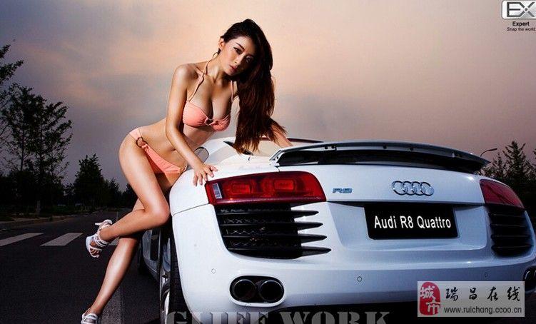 不能不说的故事 车模Audi R8