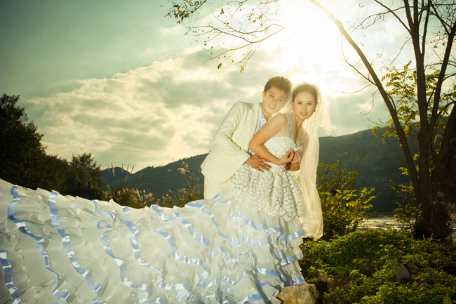 掌握这些技巧你的婚纱照可以拍得更美
