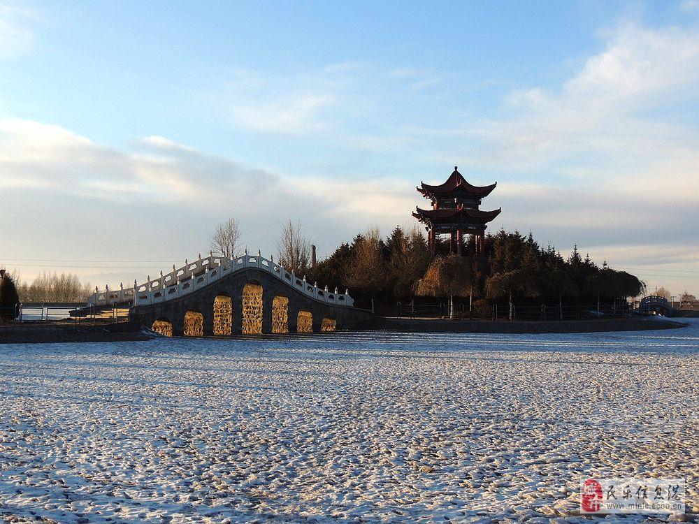 冬日照耀下的民乐公园(续)