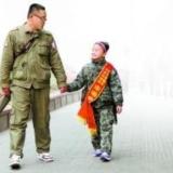9岁女孩和爸爸搭顺风车 14天行走11个城市