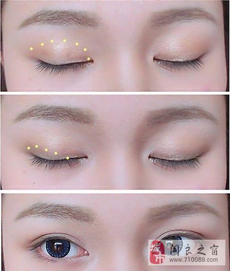 淡妆眼线笔的画法步骤图