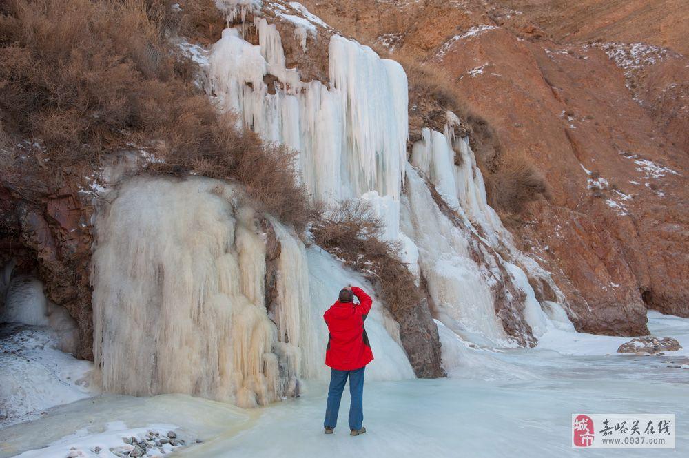 [原创]祁连山深处的冰瀑