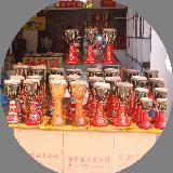 傣族象脚鼓工艺品玩具摆件吉祥物