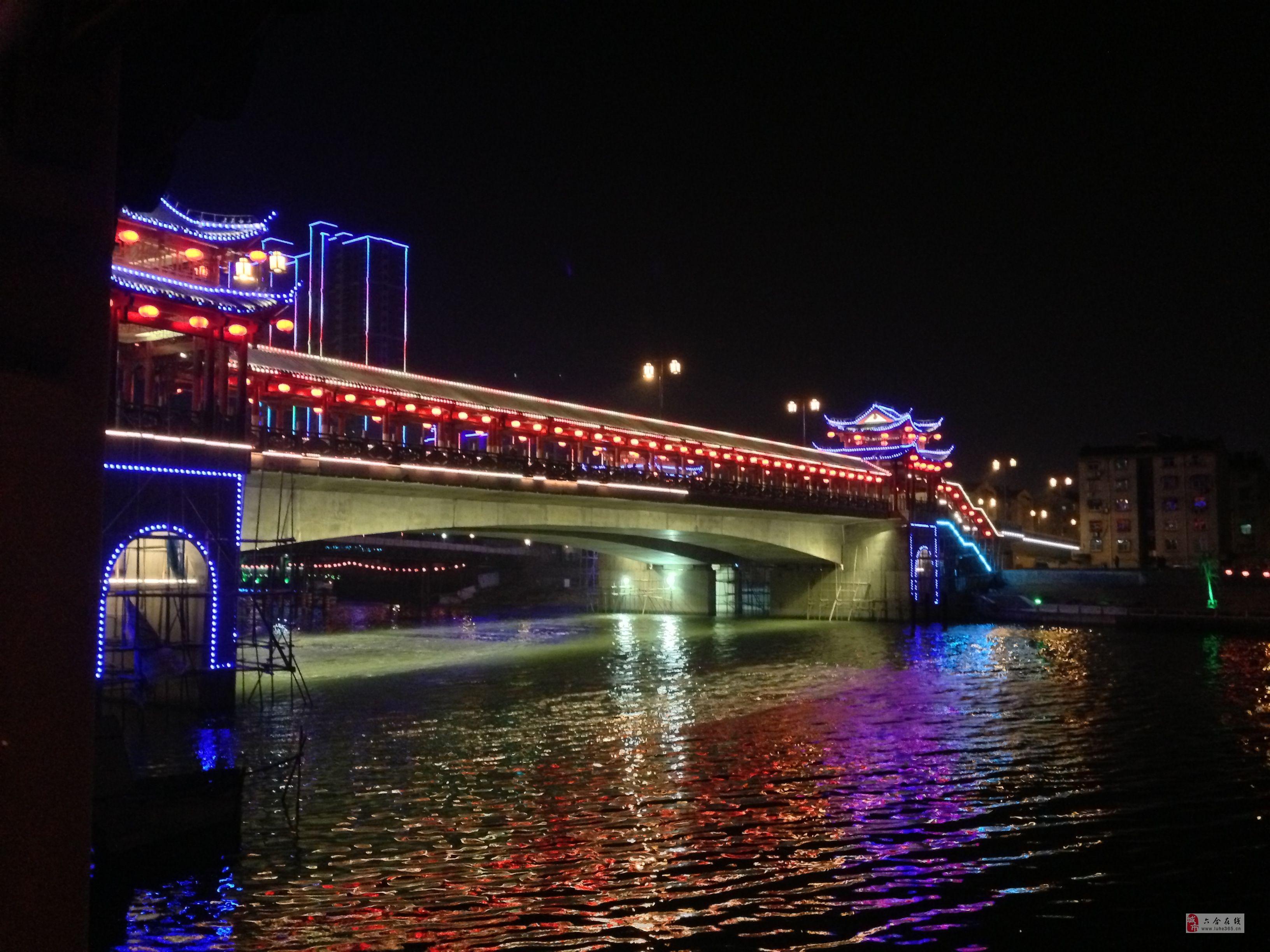 六合滁河灯展