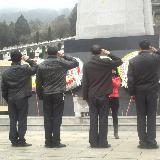 """[原创]""""2.17""""纪念日澳门拉斯维加斯官网烈士陵园祭祀活动"""