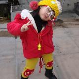 【宝贝新年秀】甜小妞潮装过新年。。