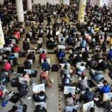 2013艺考开始 千名学生同场竞考