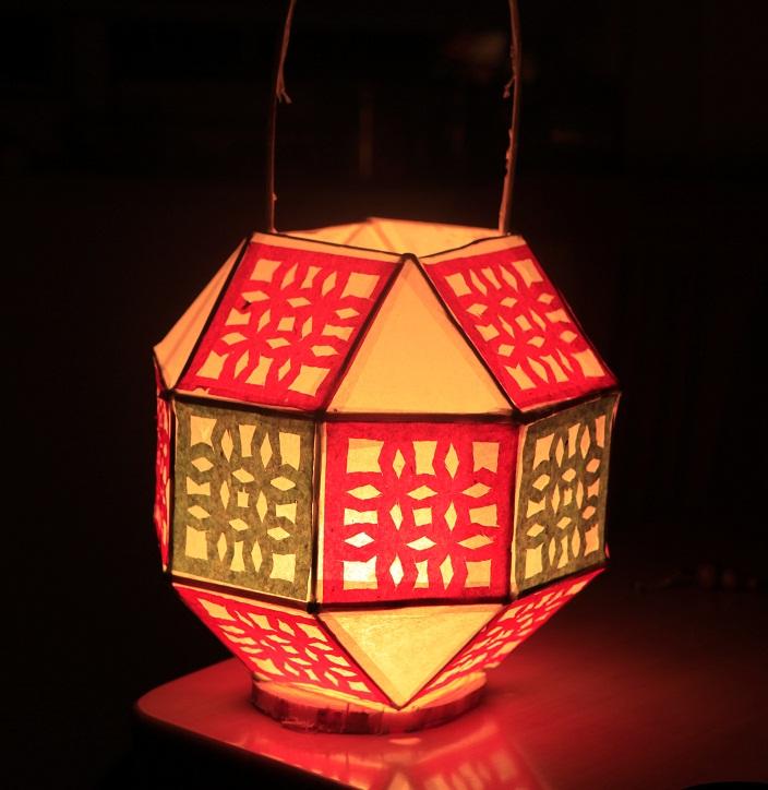 花灯笼制作方法图解 脏辫制作方法图解 灯笼制作方法