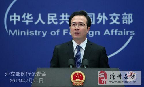 安倍歪曲攻击中国 中方要求日方立即道歉