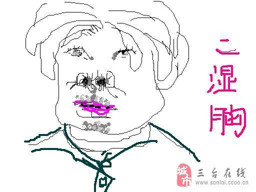 韩国可爱表情简笔画