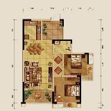 铜仁万和星城12号楼D-1户型样板房品鉴