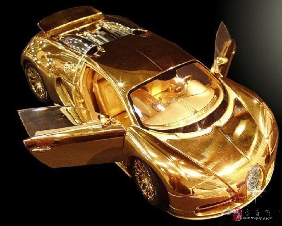 黄金+钻石千万元车模价值超真车