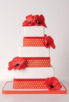 [分享]最吸睛婚礼现场 美貌翻糖蛋糕