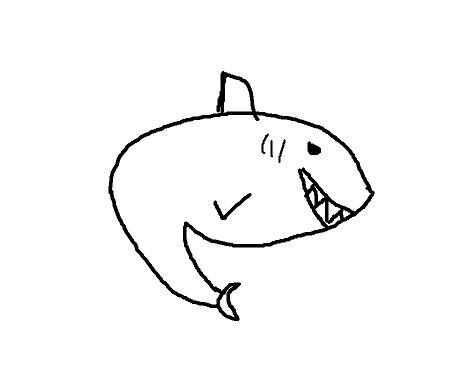 小鲨鱼简笔画; 侧面蜻蜓简笔画大全; 幼儿画画教学视频_第10页_画画