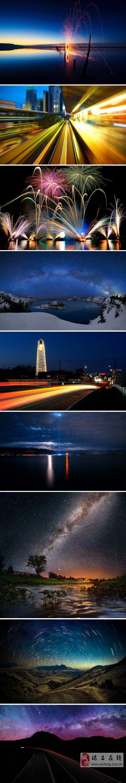 摄影技巧:如何获得夜景完美光线轨迹