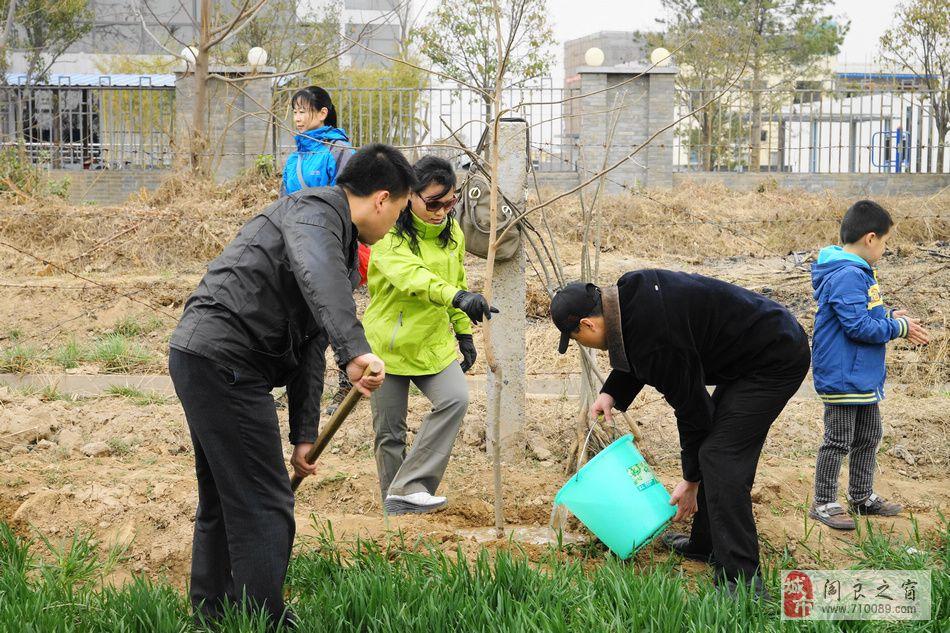 [原创]种植一颗绿树 奉献一片爱心——阎良敬老院