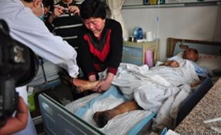 临清老人北京走失5个月找回历经坎坷身体极度虚弱