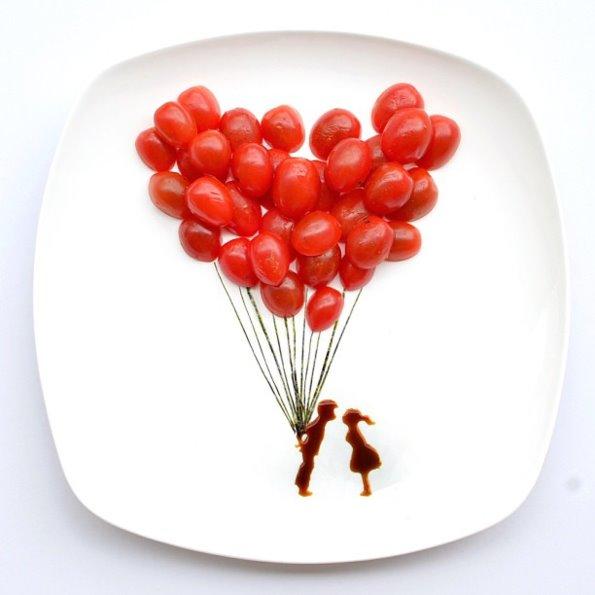创意美食拼盘