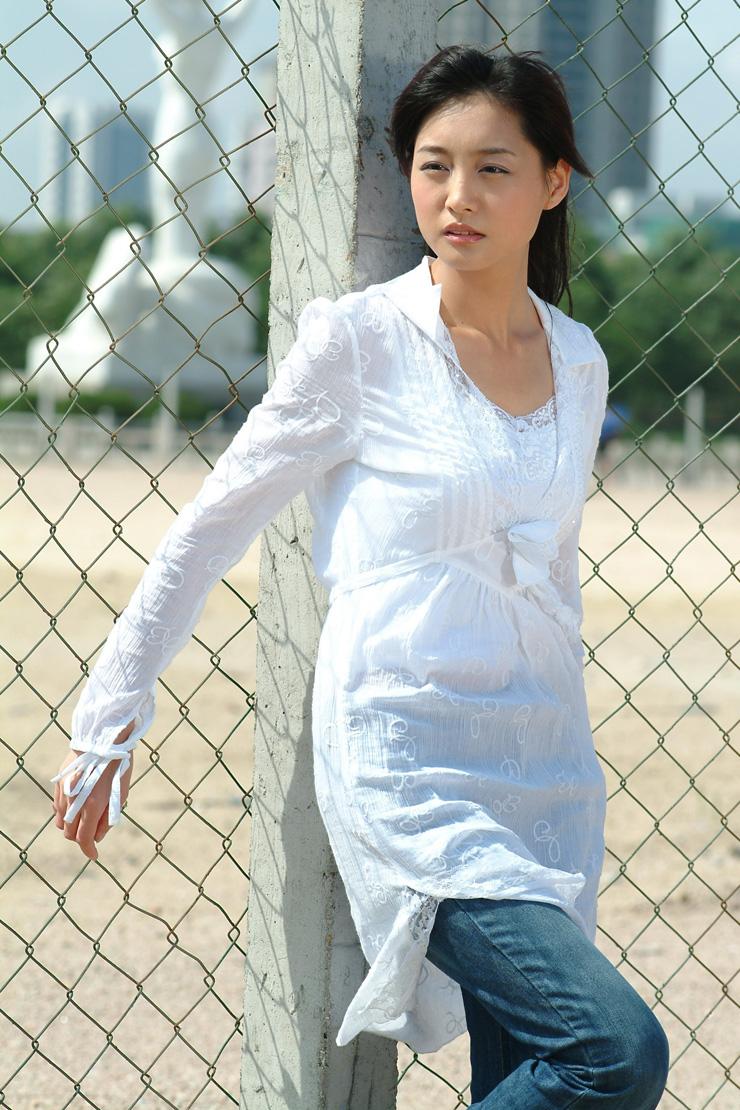 她被评为广州美女