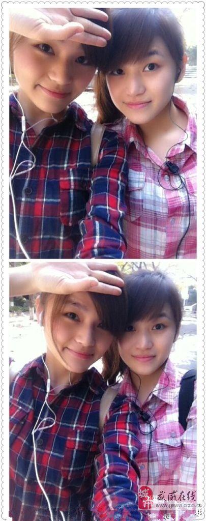 我们是双胞胎, 比比我跟姐姐谁更漂亮?