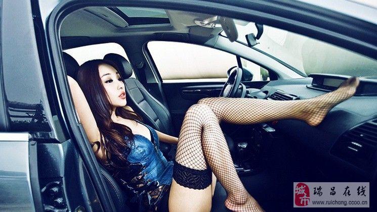黑丝美腿车模纯度诱惑