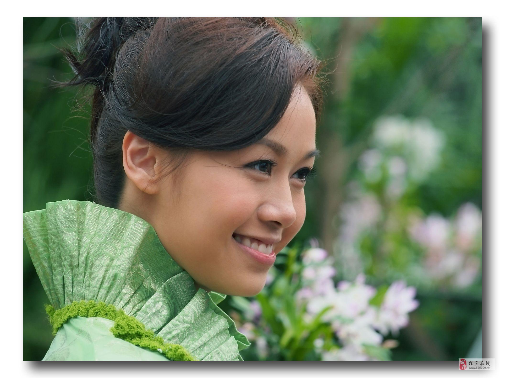 2013年香港花卉展艺员造像摄影