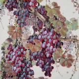 王福山的葡萄作品