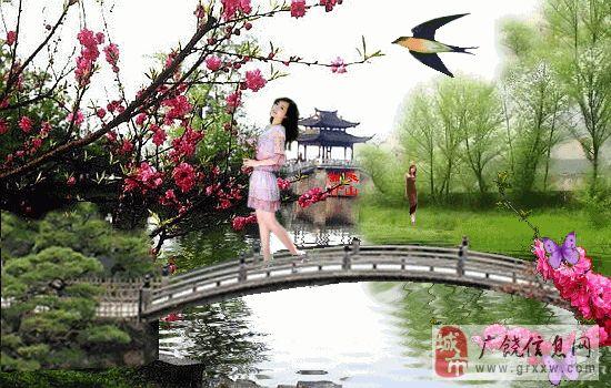 4920,三月桃花红彤彤(原创) - 春风化雨 - 春风化雨的博客