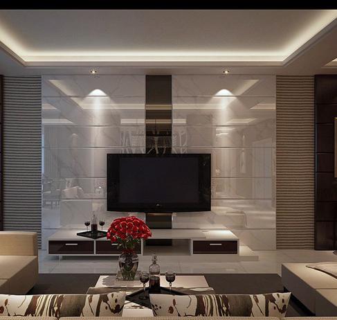 [原创]许昌市东区家庭现代黑白装修效果图