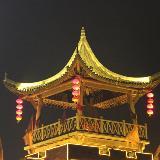 大明边城夜景
