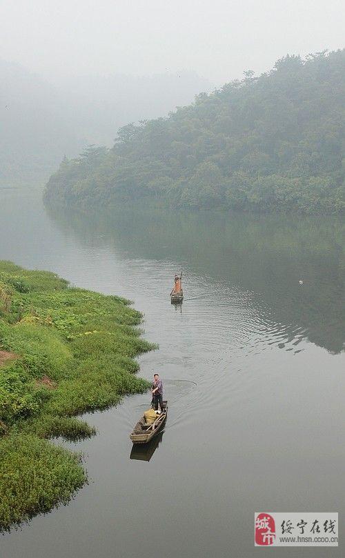 2013年3月24日骑行巫水上游石江坪图片记录