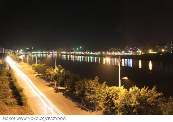 龙川县老隆镇夜景