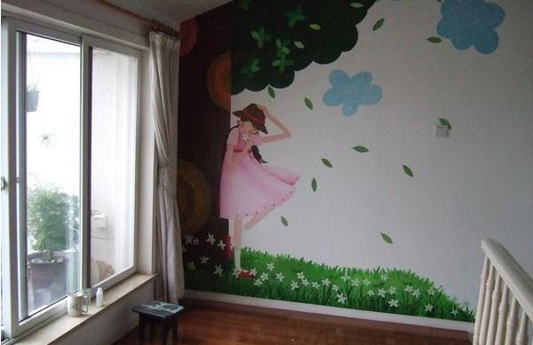 想让你的家变的华丽漂亮一点吗?赤壁墙绘可以帮你打造..