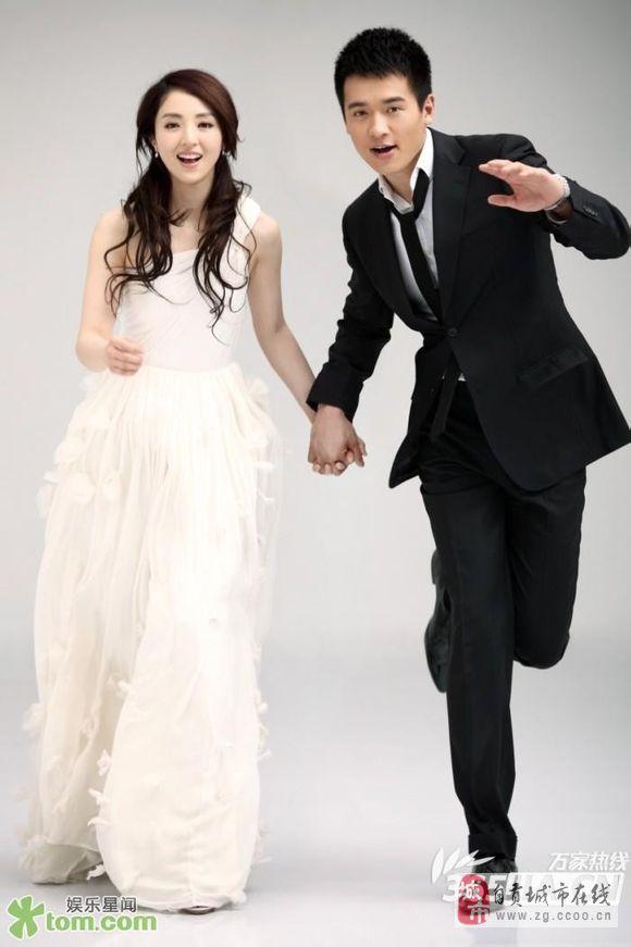[原创]娱乐圈名人风格迥异的婚纱照