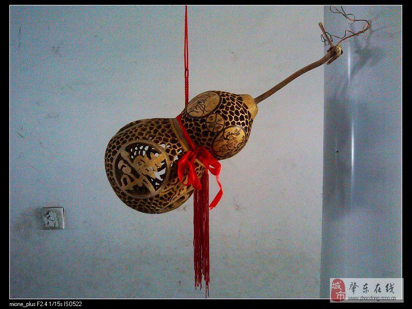 精美的镂空葫芦雕刻艺术