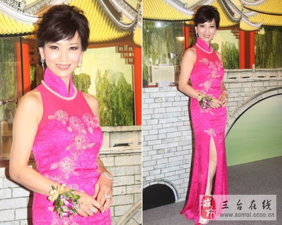 旗袍来展示自己的美丽和魅力