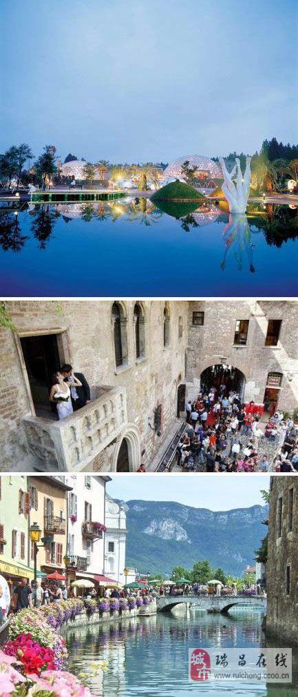 国外10大最理想的浪漫结婚城。