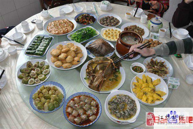 """瑶都江华""""十八酿""""、荷叶米粉蒸肉、扣肉及各种风味小吃"""