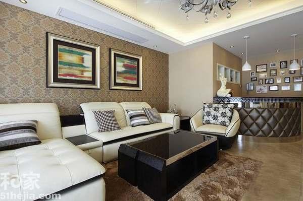 浪漫新古典婚房装修160平大气典雅两居室