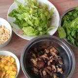 懒人专用餐――-芥菜咸饭。