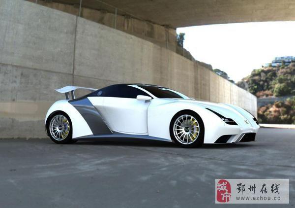 宝马的工程师设计了一台超级速度的跑车