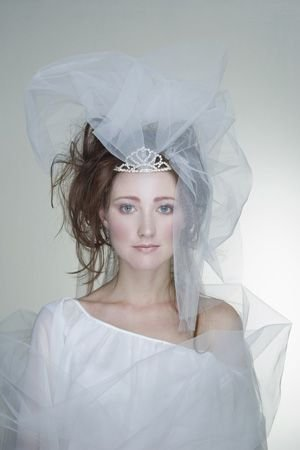 看新娘头纱发型如何巧妙搭